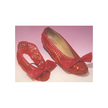 Child Ruby Slippers Rubies 410, One Size](Halloween Ruby Slippers)