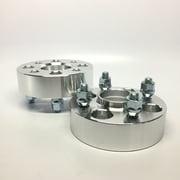 2pc 30mm Wheel Spacers   4x114.3 Hubcentric w/ lip 66.1mm Hub   12x1.25 Studs