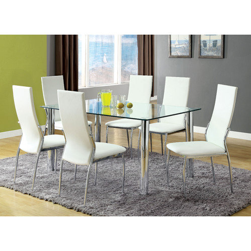Hokku Designs Chandler 7 Piece Dining Set