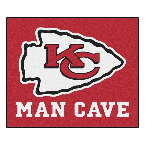 FANMATS NFL - Kansas City Chiefs Man Cave Indoor/Outdoor Area Rug