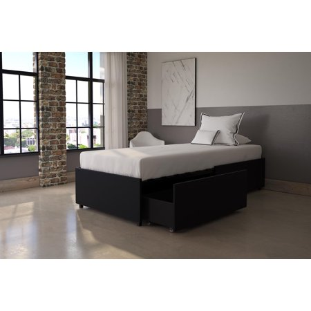 DHP Maven Platform Bed with Storage, Multiple Sizes and