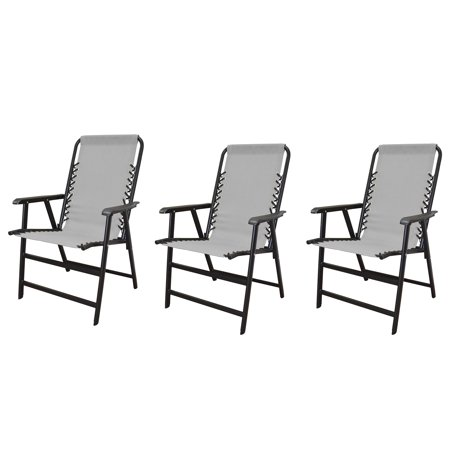 Phenomenal Caravan Canopy Infinity Suspension Steel Patio Deck Folding Chair Gray 3 Pack Lamtechconsult Wood Chair Design Ideas Lamtechconsultcom