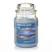 American Home by Yankee Candle Clear Mountain Lake, 19 oz Large Jar