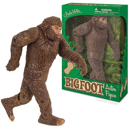Accoutrements Bigfoot Action Figure - Bigfoot Masks