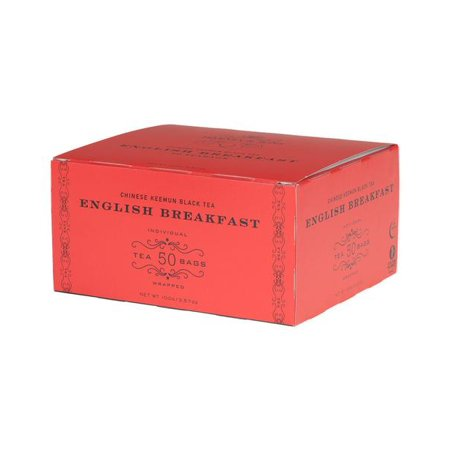Harney & Sons, English Breakfast, Chinese Keemun Black Tea, 50 Ct