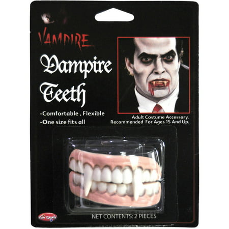 Vampire Teeth Adult Halloween Accessory - Halloween Vampire Teeth Instructions