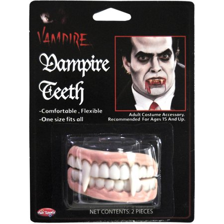 Pointy Teeth Halloween (Vampire Teeth Adult Halloween)