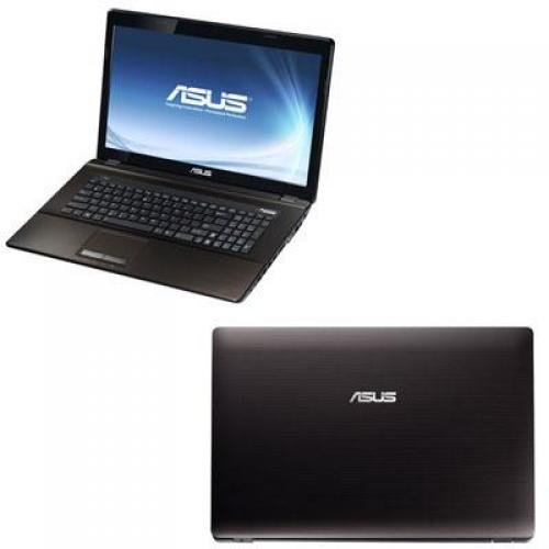 """ASUS Brown 17.3"""" K73E-DS31 Laptop PC with Intel Core i3-2350M Processor and Windows 7 Home Premium with Windows 8 Pro Upgrade Option"""