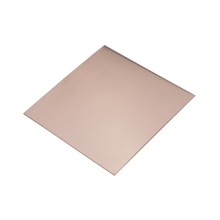 """6"""" x 6"""" Copper Sheet 22 Gauge Jewelry Charm Pendant Punch Metal Forming Etching and Embossing Tool - MET-705.22"""