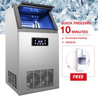 4X9 pcs Built-in Portable Auto Commercial Ice Maker for Restaurant Bar 130lb/24H