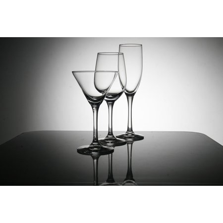 LAMINATED POSTER Water Cup Wines Studio Water Glass Poster Print 24 x 36
