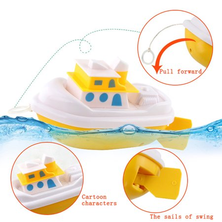 Baby Kids Bathing Toys Wash Play Cartoon Pull Educational Toys