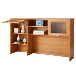 Realspace Magellan Collection Hutch, Honey Maple