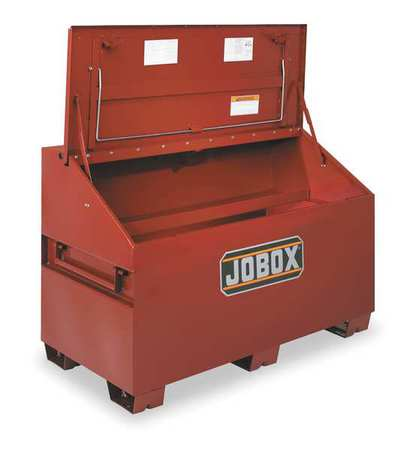 Jobox Jobsite Chest, Steel, Brown, 1-680990