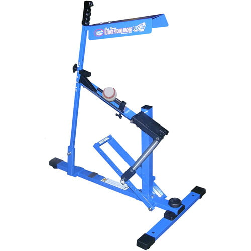 Click here to buy Louisville Slugger UPM 45 Blue Flame Baseball Softball Pitching Machine by G Master LLC.