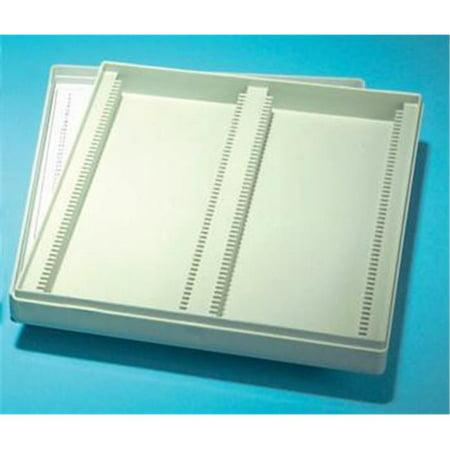 Olympia Sports 16454 Slide Storage Box - Plastic - Holds 100 (Spot Store)