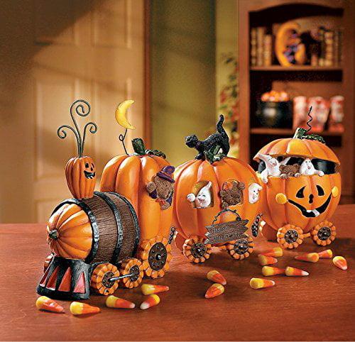1 X The Pumpkin Express Train - Decorative Accessories