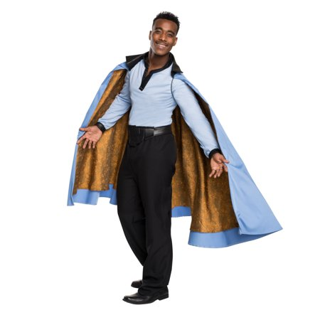 Adult's Mens Deluxe Grand Heritage Star Wars Lando Calrissian Costume - Princess Leia And Han Solo Costumes