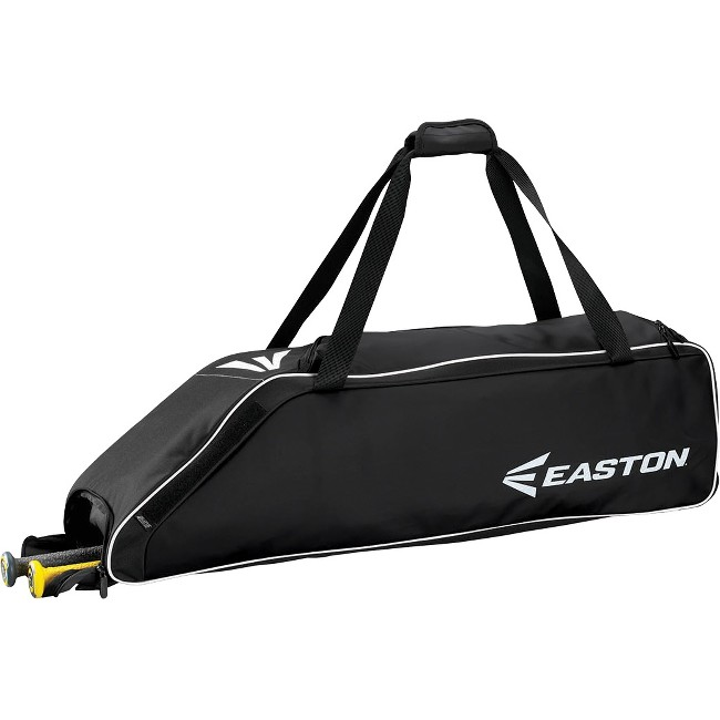 "Easton E310W Carrying Case (Roller) for Gear, Bat, Baseball - Black - Carrying Strap - 9"" Height x 9"" Width x 36"" Depth"