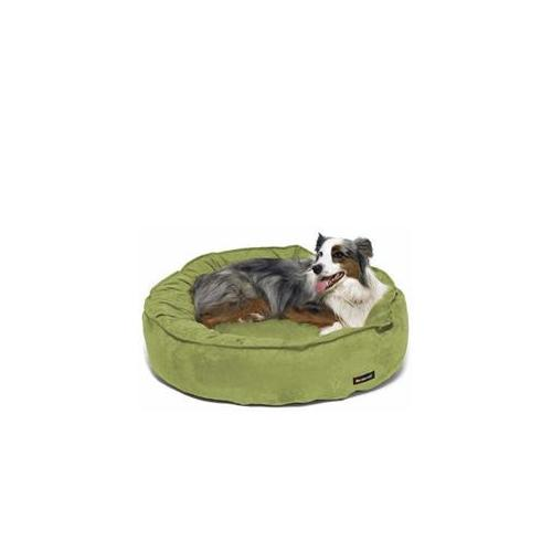 Nest Bed - Large/Stone Suede