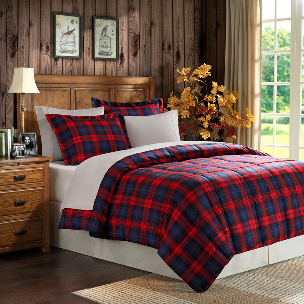 comforter woolrich product huntington green quilt by mini master hayneedle huntingtonquiltminisetbywoolrich plaid cfm set