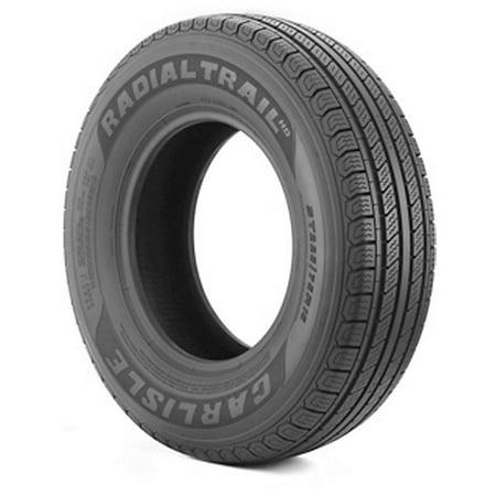 Carlisle Radial Trail HD Trailer Tire - ST235/85R16 LRE/10ply Carlisle Radial Trail Trailer Tires