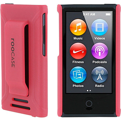 rooCASE Apple iPod Nano 7th Generation Case - Ultra Slim Shell Cover