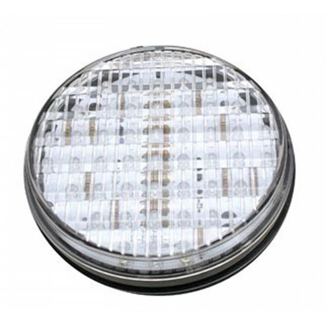 DIAMOND GRP 52507 LED Exterior Light, 45 Diode 4 In. Round Back Up Light