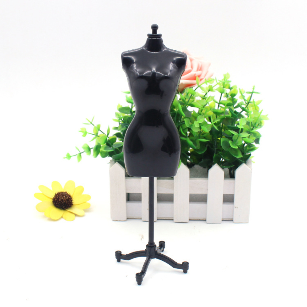 Mini Mannequin Dress Clothes Gown Model Stand for Doll Toy Display Perfect