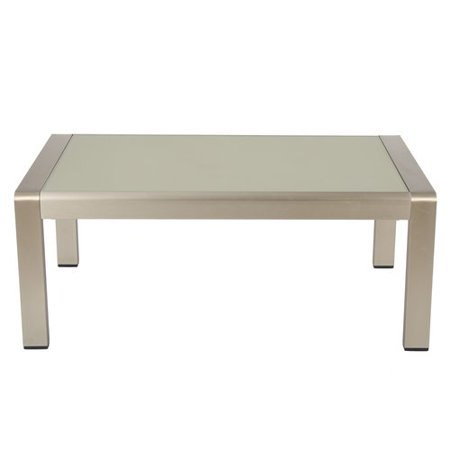 Orren Ellis Kit Outdoor Aluminum Coffee Table