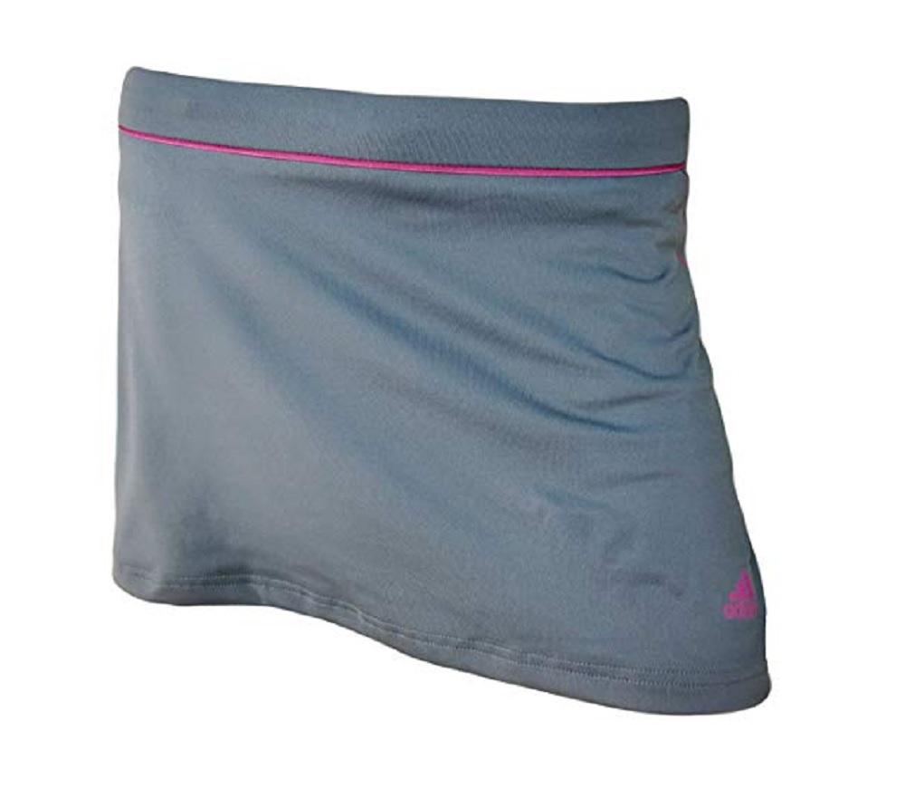 Adidas Women's Running Skort (X-Large, Gray Pink) by