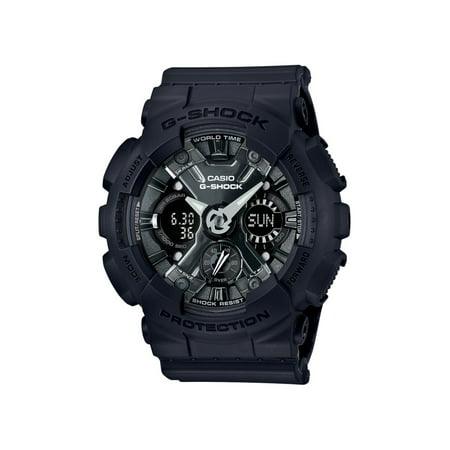Casio G-Shock Women's Shock Resistant 200 Meter Water Resitant Watch, ( Model GMA-S120MF-1ACR)