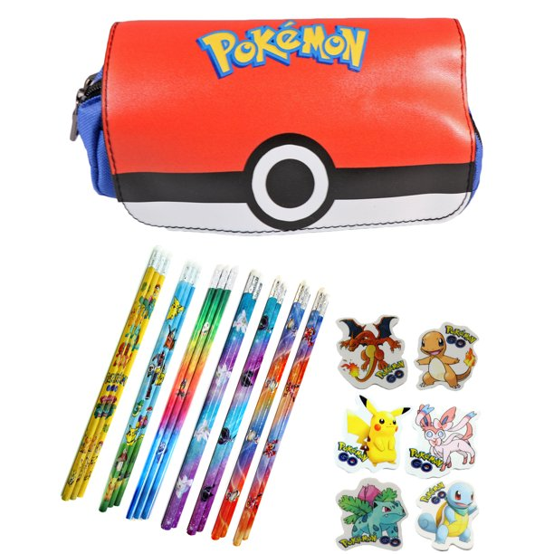 Pokemon Center Pen Pencil Eraser Case