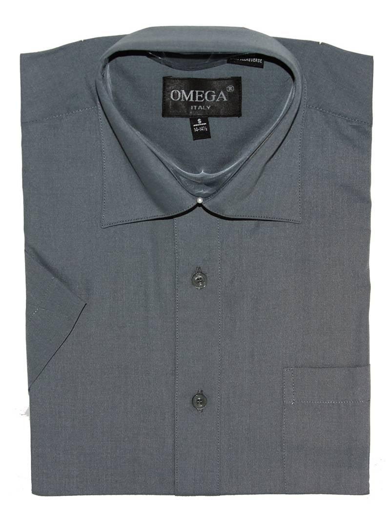 Gravity Threads Mens Dress Shirt Short Sleeve  Button Up Shirt