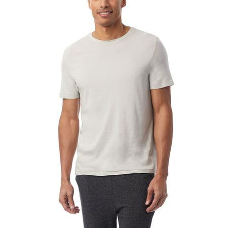 Alternative Men's Outsider Heavy Wash Jersey T-Shirt, Light Grey, 2XLarge