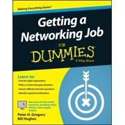 Getting a Networking Job For Dummies - eBook