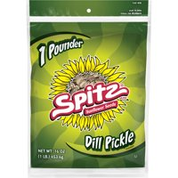 Spitz Dill Pickle Flavored Sunflower Seeds 16 oz. Bag