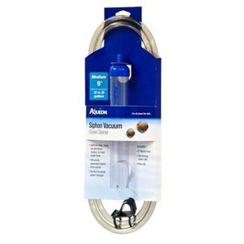"""Aqueon Siphon Gravel Vacuum Aquarium Cleaner, Medium, 9"""""""