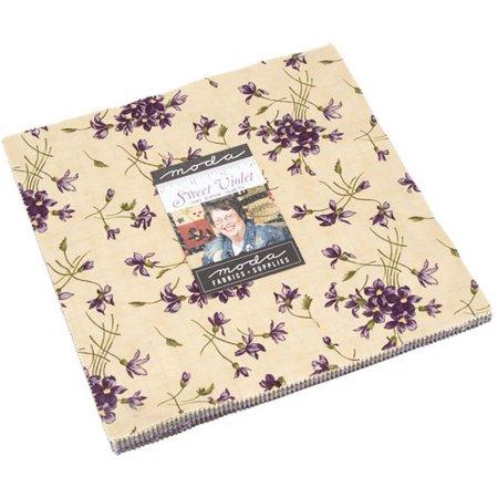 Sweet Violet Moda Layer Cake by Jan Patek Quilts; 42 - 10