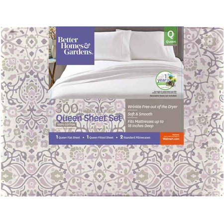 amazing better homes and garden sheets.  Better Homes and Gardens 300 Thread Count Sheet Collection Walmart com