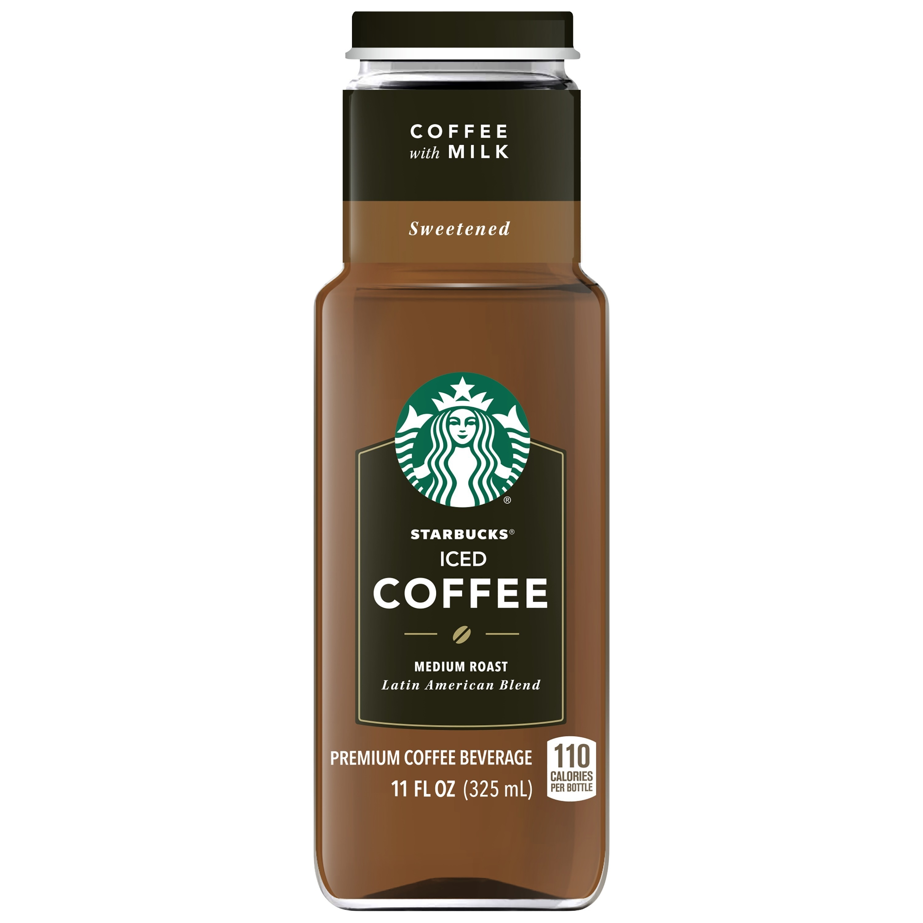 Starbucks Iced Sweetened Black Coffee, Medium Roast, 11 Fl Oz, 8 Ct