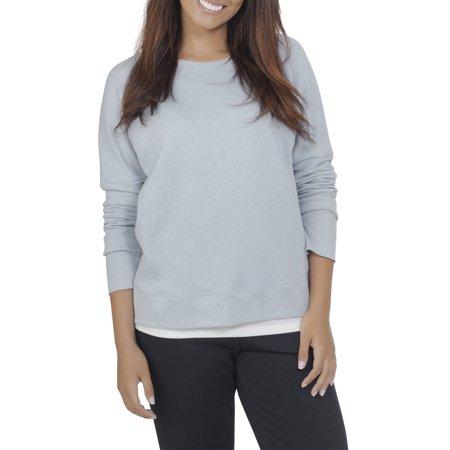Fruit of the Loom Womens Athleisure Essential French Terry Sweatshirt (Skeeter Sweatshirt)