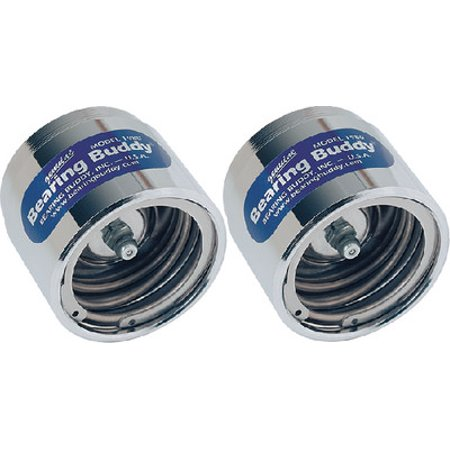 Bearing Buddy Chrome Trailer Wheel Bearing Protector | 2 Pack