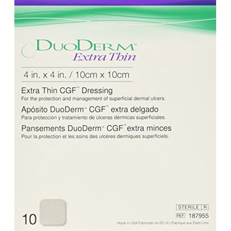 DuoDerm Extra Thin sterile Hydrocolloid Dressing 4