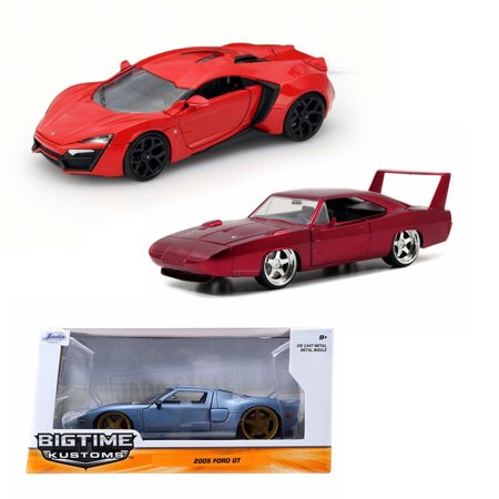 Best of Fast & Furious Diecast Set 1 - Three 1/24 Scale Diecast Model