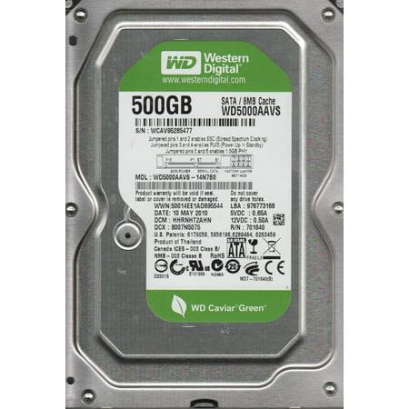 WD5000AAVS-14N7B0, DCM HHRNHT2AHN, Western Digital 500GB SATA 3 5 Hard Drive