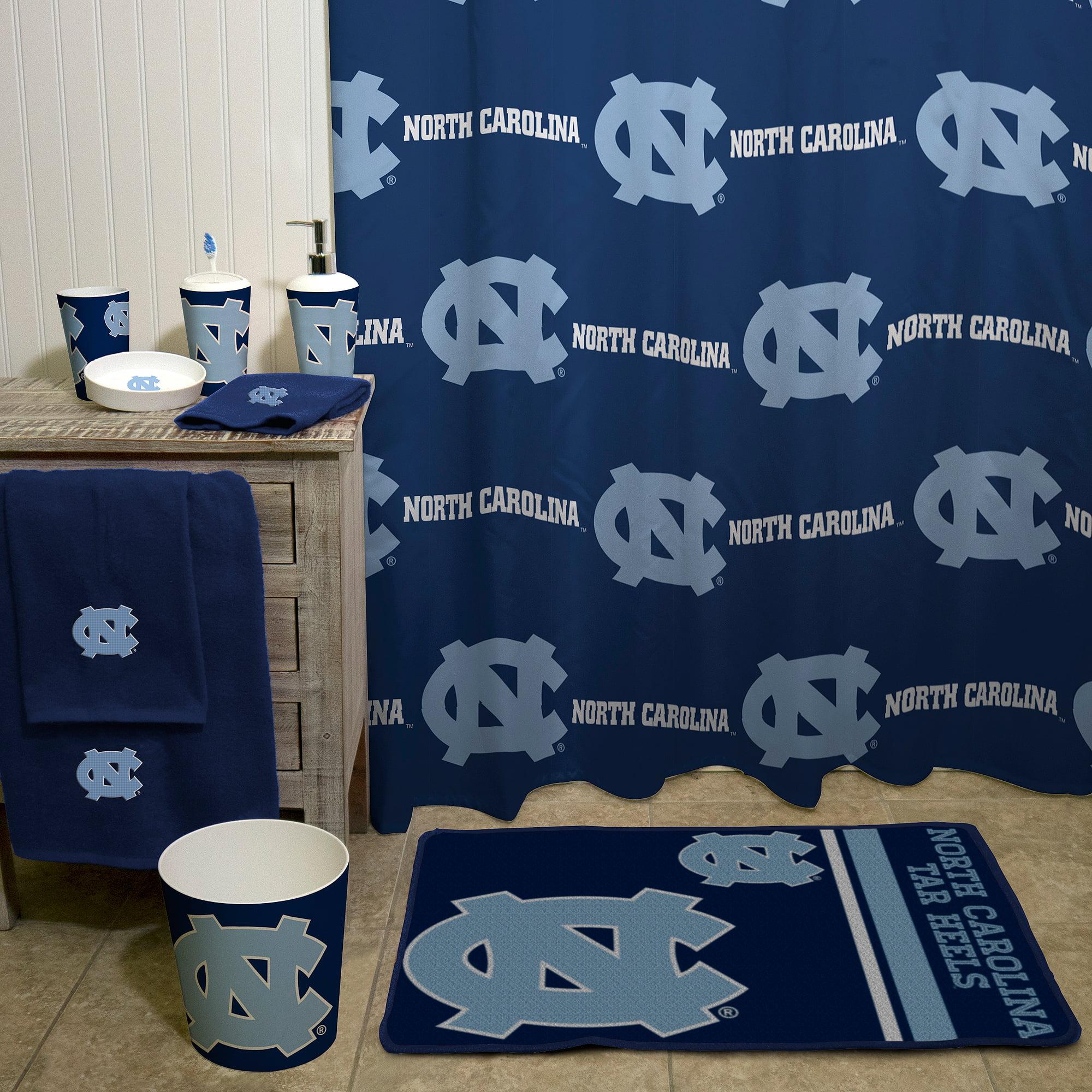 NCAA North Carolina Tar Heels Decorative Bath Collection