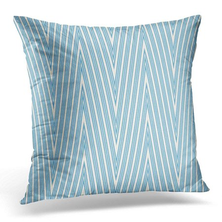 EREHome Beige Zig Zag Pattern Chevron Geometric Endless Swatch Simple Graphic Design Room Site Modern Stylish Boy Pillow Case Cushion Cover 18x18 Inches - image 1 of 1