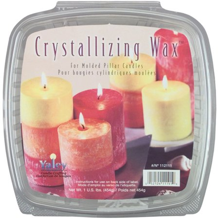Soy Wax Votive - Crystallizing Candle Wax, 1 lb, For Pillars and Votives
