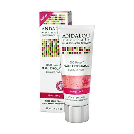 Andalou naturals 1000 Roses Pearl Exfoliator, 2 oz
